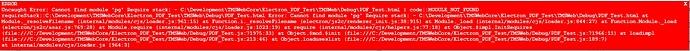 ElectronPostgreSQL